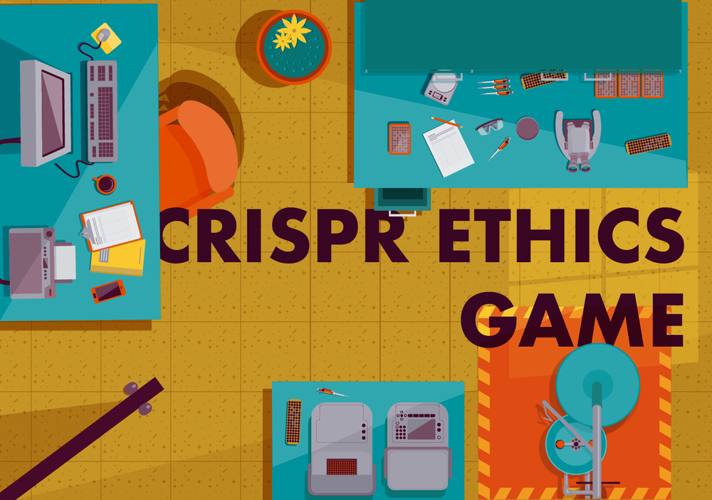 CRISPR Ethics Game - A collaboration between Field Day Lab and Saha Lab at the University of Wisconsin. This game will teach players about the astounding potential and ethical challenges of gene editing.Role: Story, Dialogue, Game Design, Content Strategy