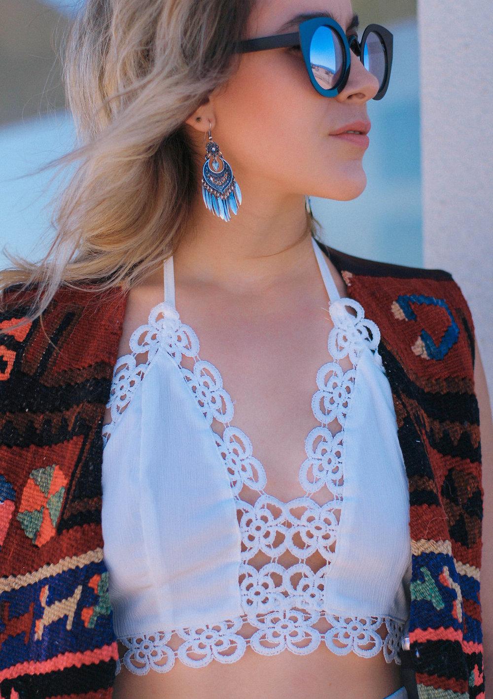 wearing: ciao bella white set