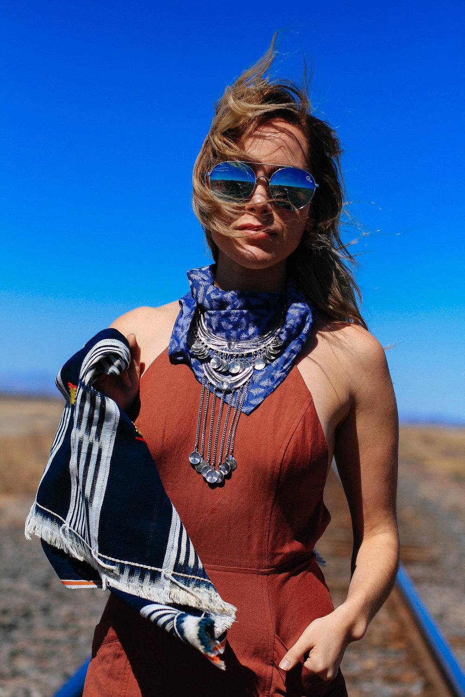 wearing: marsala rust linen dress