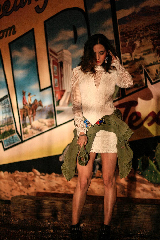 wearing: mariana crochet dress