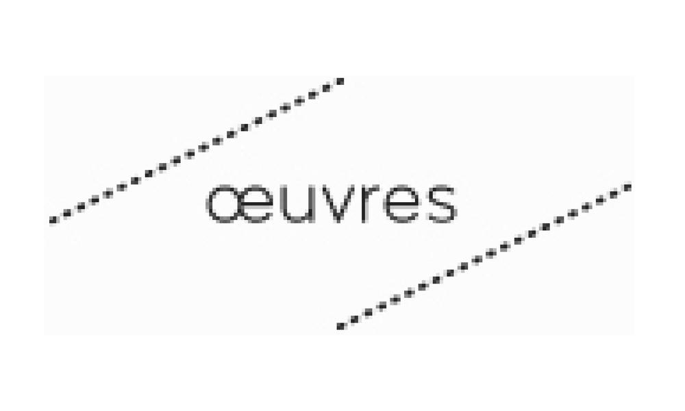 Oeuvres-revue.net, Benoît Blanchard, Janvier 2013
