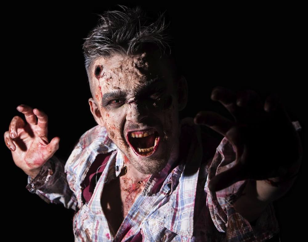 Town Center Dentistry has tips to keep your teeth healthy and clean during a zombie apocalypse. Brush and floss with twigs, apples, thread and more.