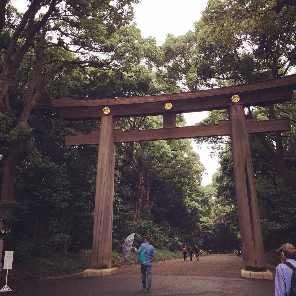 Torii in Yoyogi Park
