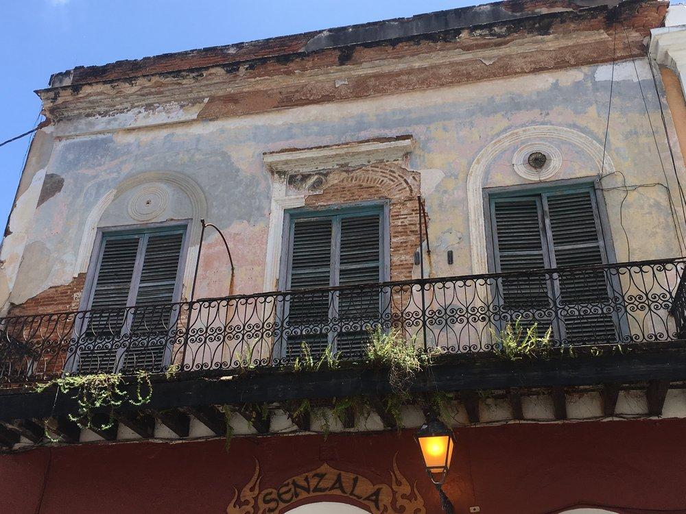 Beautiful buildings of Old San Juan