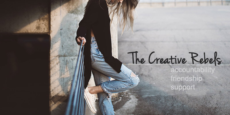 Join the creative rebels tribe! :)
