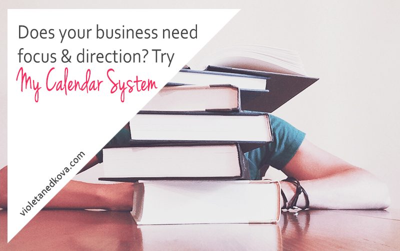 Use this system to bring some focus and direction into your business.