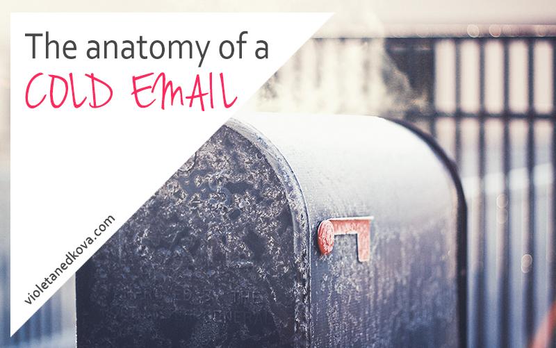 Cold Emails - Violeta Nedkova's Blog