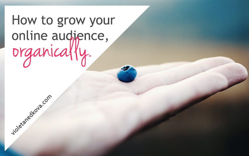 How to Grow Your Online Audience, Organically by Violeta Nedkova