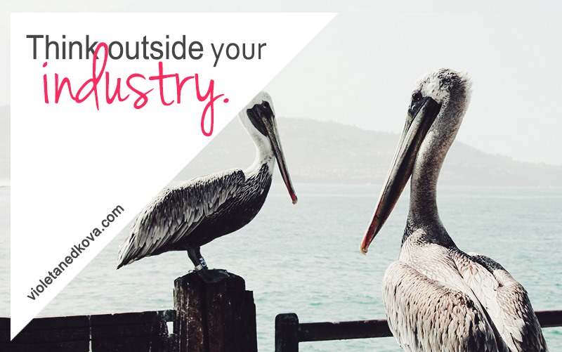 Want to stand out online? Think outside your industry.