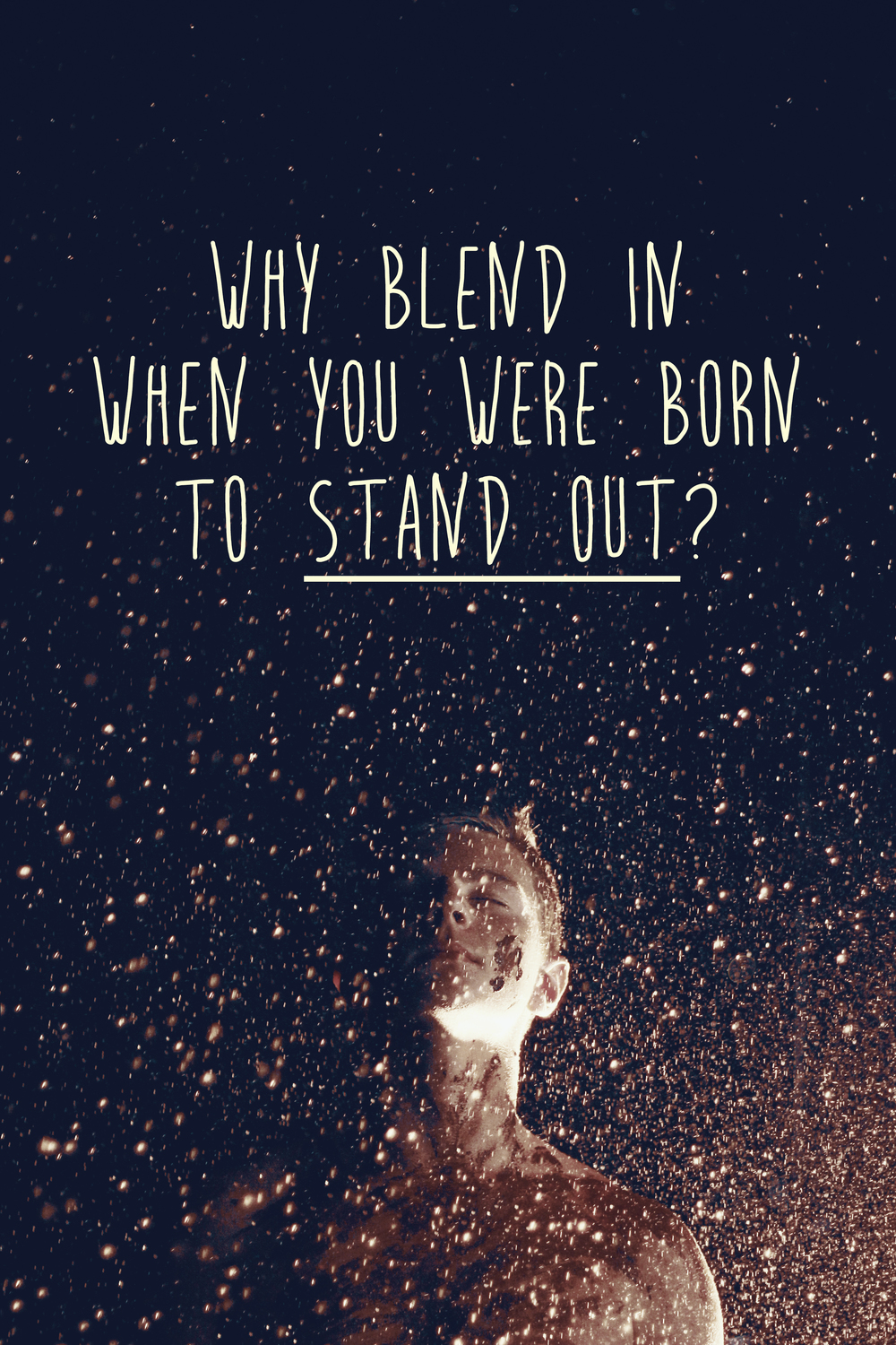 Why blend in when you were born to stand out? quote by Dr. Seuss | Violeta Nedkova