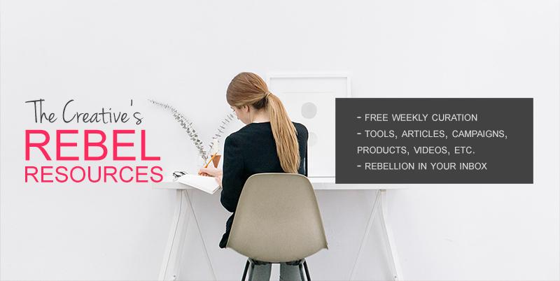 Get your weekly Rebel Resources - REBELLION IN YOUR INBOX!