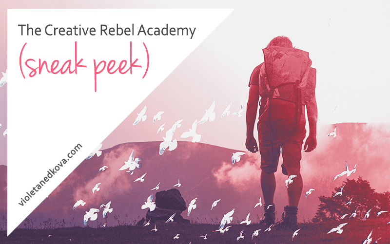 The Creative Rebel Academy launches in January!