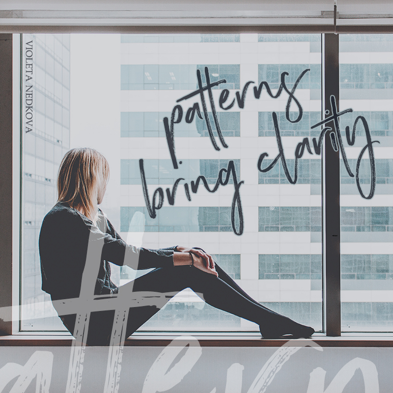 Do you want business clarity? Here's how to look for patterns. | Coaching for Creative Rebels