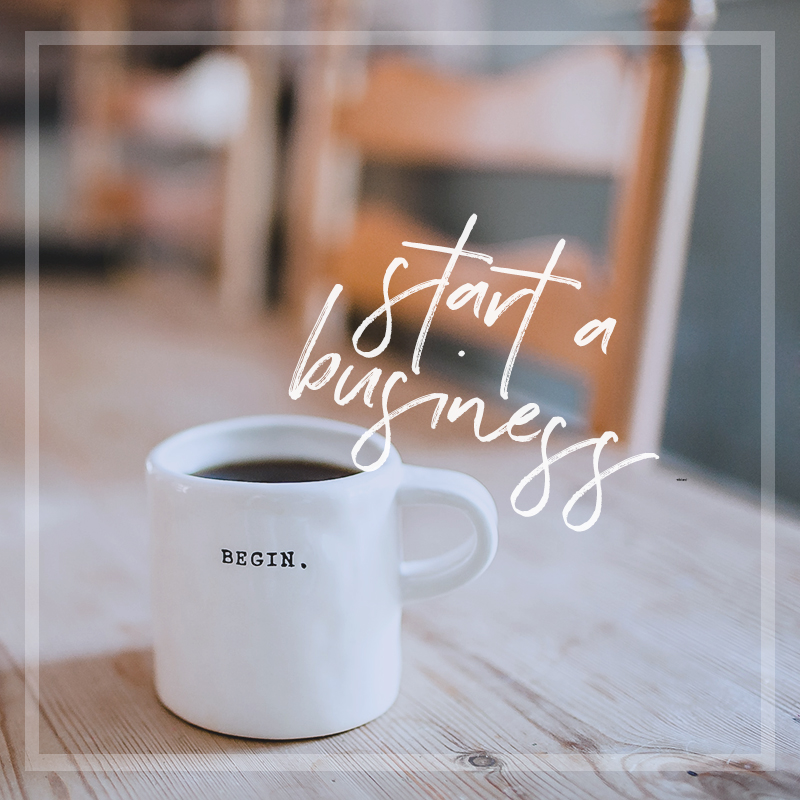 Start your own creative online business.