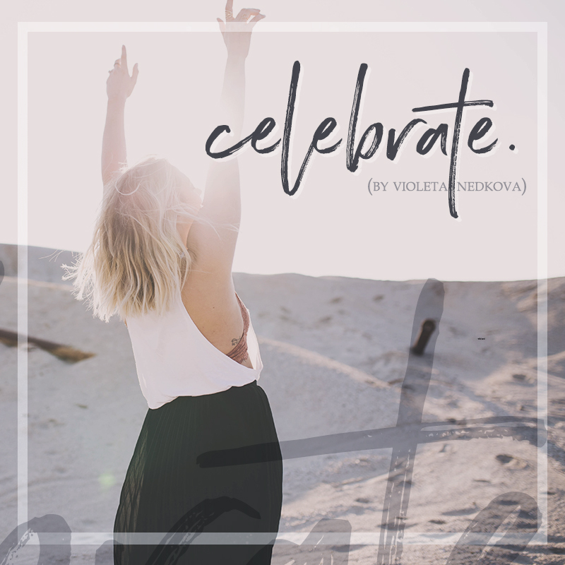Don't compare, celebrate who you are.