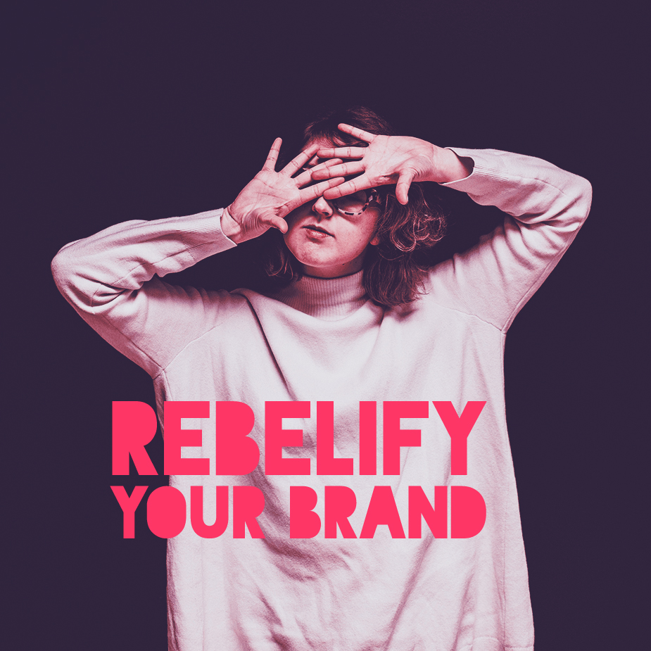 The Rebelify Your Brand playbook pretty much has everything you need to make your brand more authentic and standout.