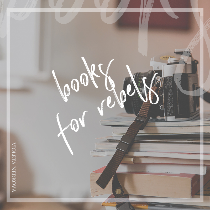 I recorded this as a workshop, and it's not perfect quality (my eyes have bags under them too), but I wanted to share my favorite rebel reads with you and see why they're the best.