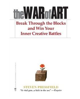 The War of Art is a book that creatives keep recommending to me because it helps you overcome your creative resistance, which we all have plenty of.