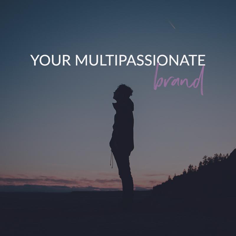 Your Multipassionate Brand - a coaching program for creative rebels - violetanedkova.com