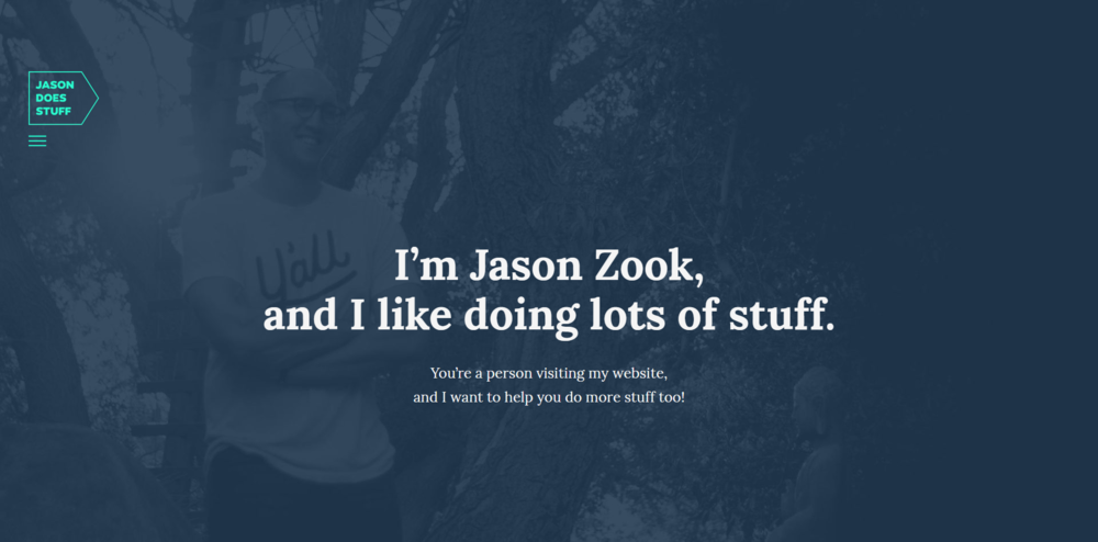 Jason Zook does a lot of unconventional stuff on the Internet and he wants to help you do more stuff too.