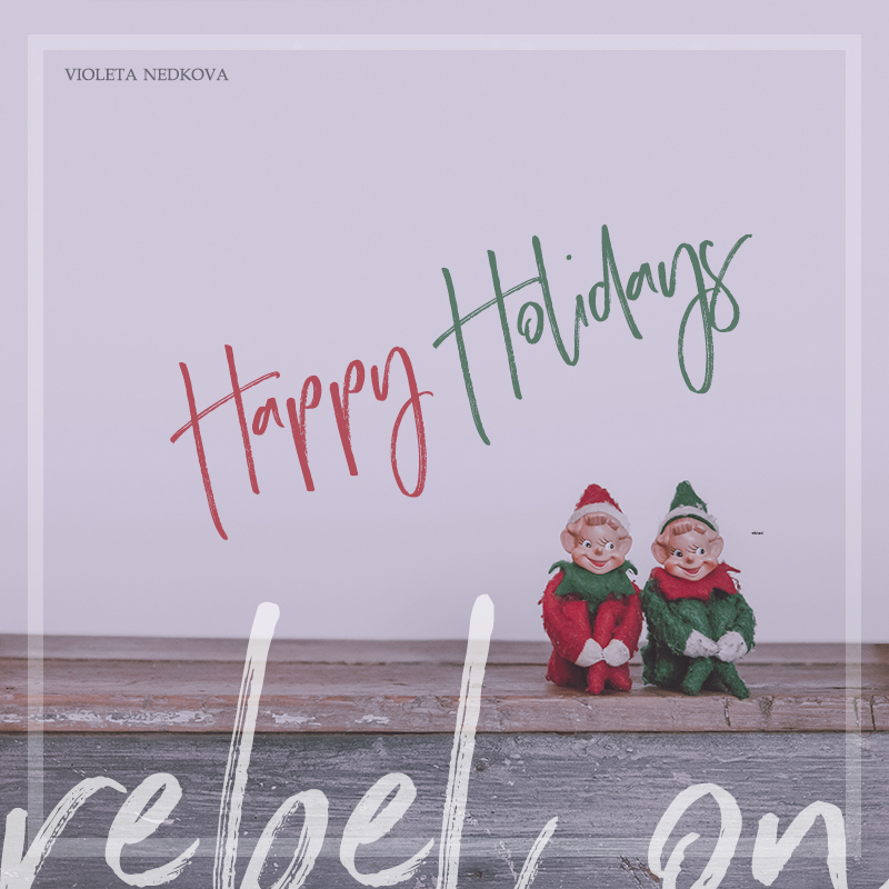 Happy holidays, rebels! I have a few presents for you. :)
