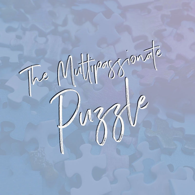 The Multipassionate Puzzle course - for people who want to integrate their many interests into one path.