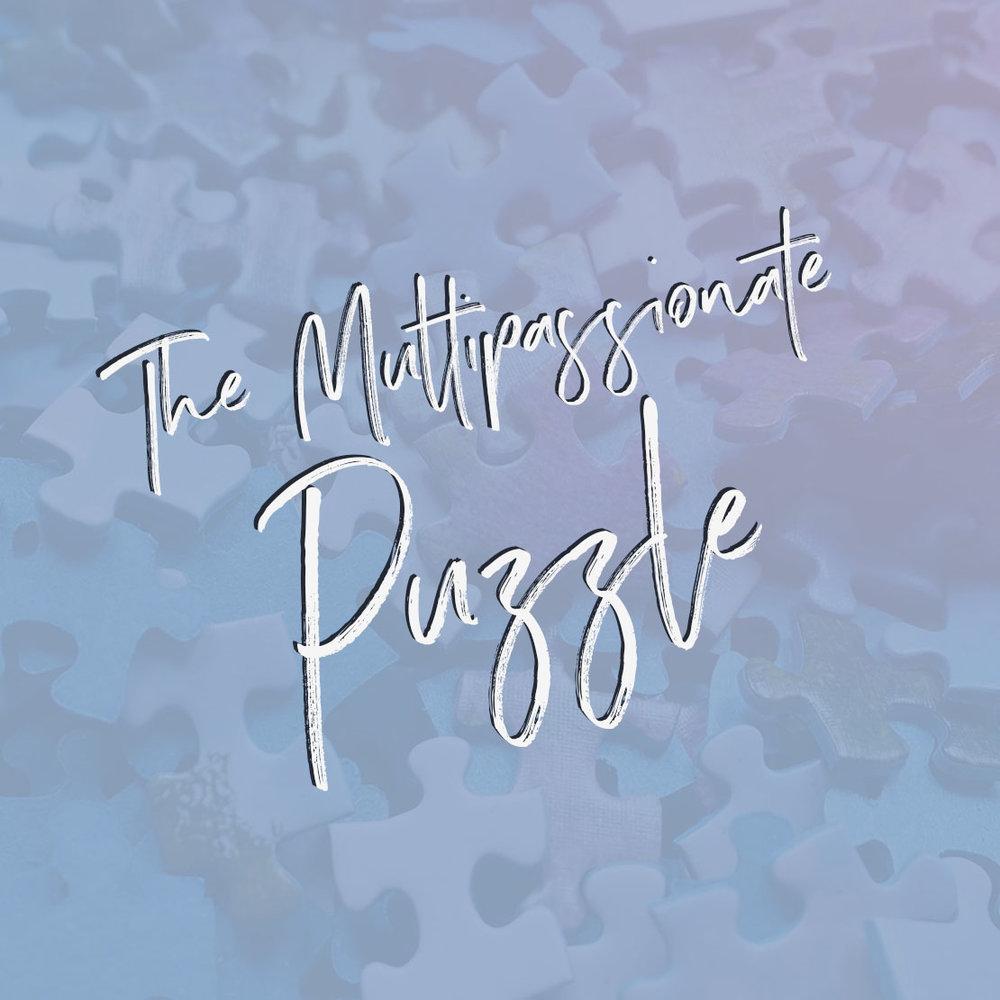 The Multipassionate Puzzle course via Violeta Nedkova - integrate your many interests into the ultimate path