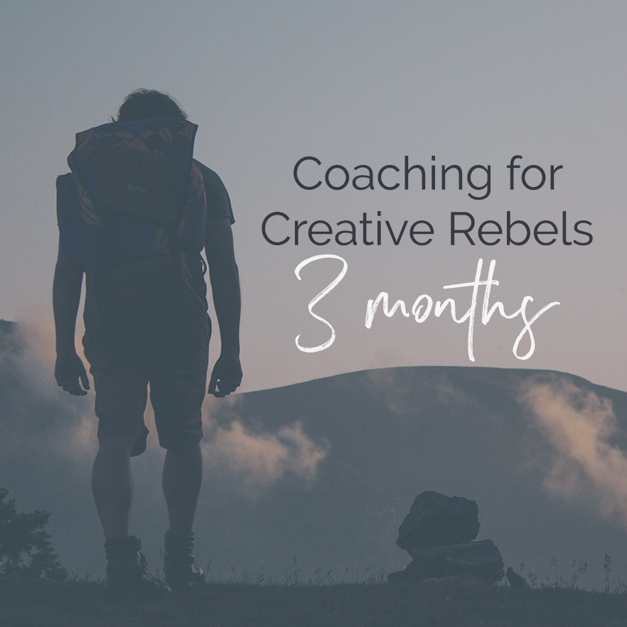 Coaching for creative rebels and multipassionates who want to make a difference and build things that matter, via Violeta Nedkova