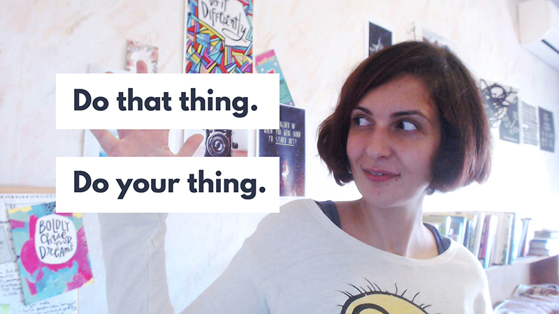 When was the last time you did your thing? | Violeta Nedkova