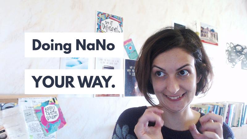 Doing #NaNoWriMo my way!   Violeta Nedkova