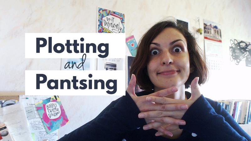 Are you plotter or a pantser? | Violeta Nedkova