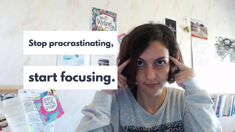 Watch this and you'll never procrastinate again. | Violeta Nedkova