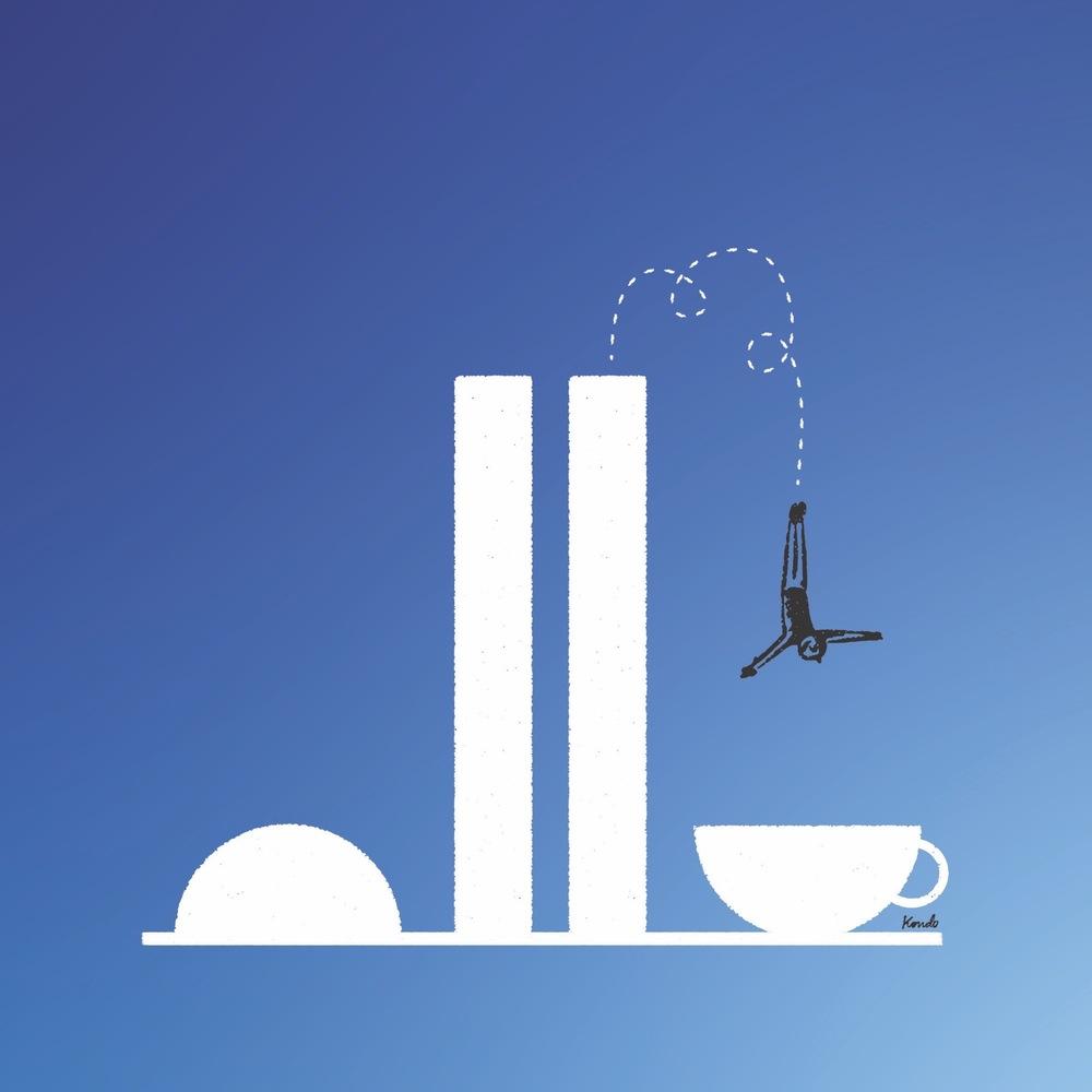 Mergulho Cafeínado 2, Daniel Kondo.