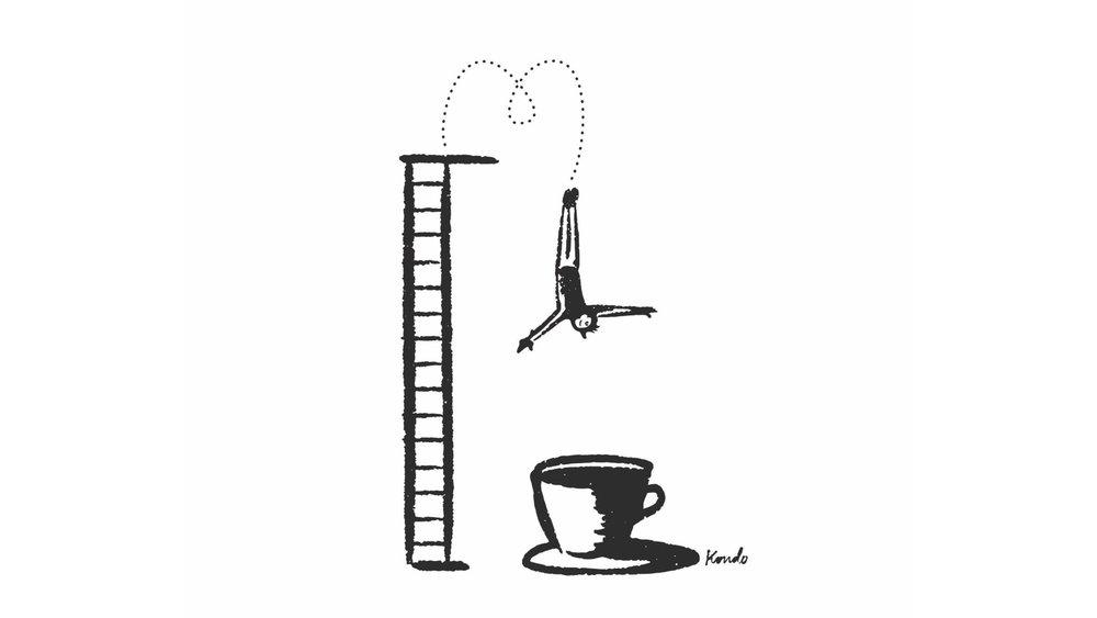 Mergulho: a imersão no mundo do café, por Daniel Kondo.