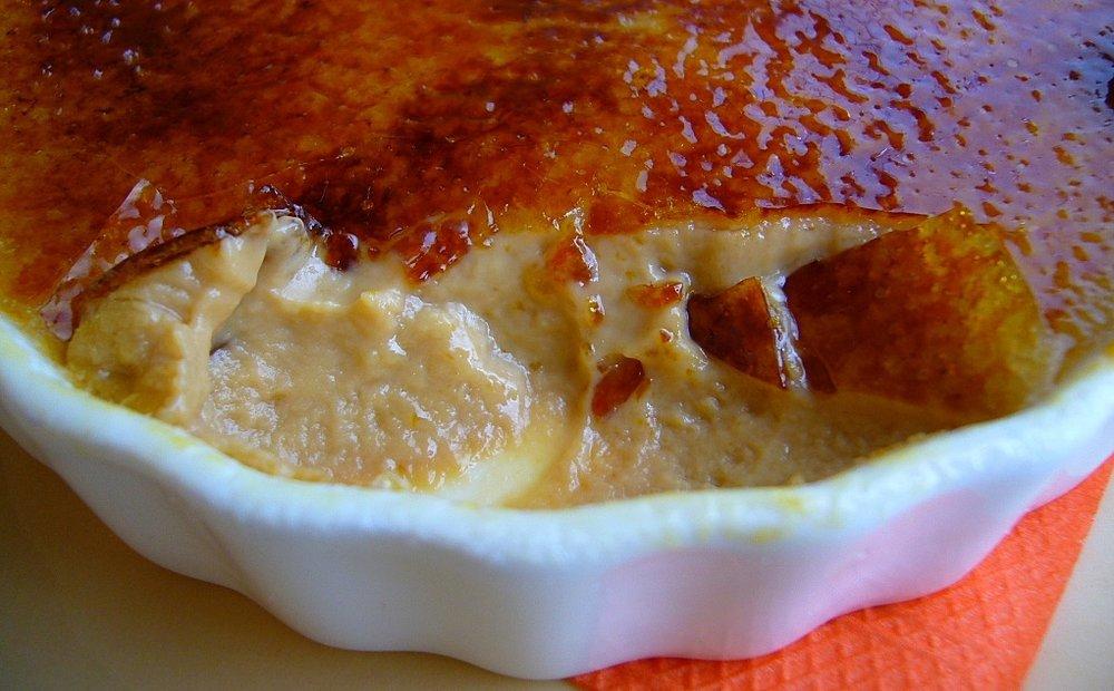 Creme Brullè Nordestino, revisão do genial chef Julien Mercier para o Mocotó, em São Paulo, SP.