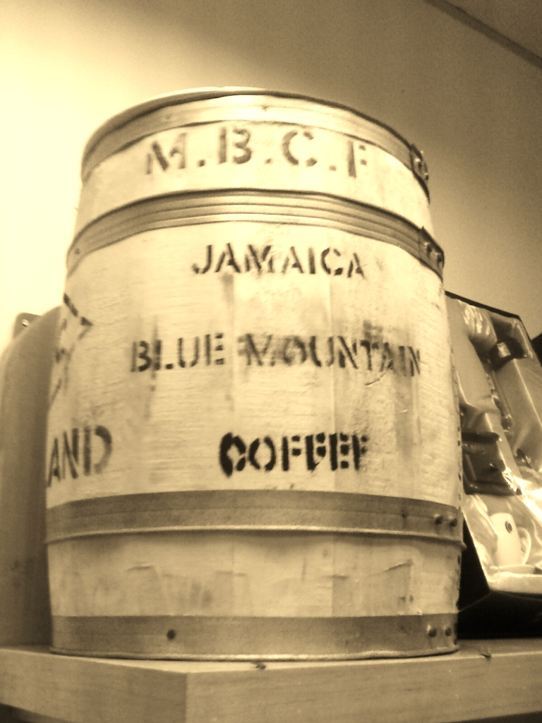 Barrica do Jamaica Blue Mountain