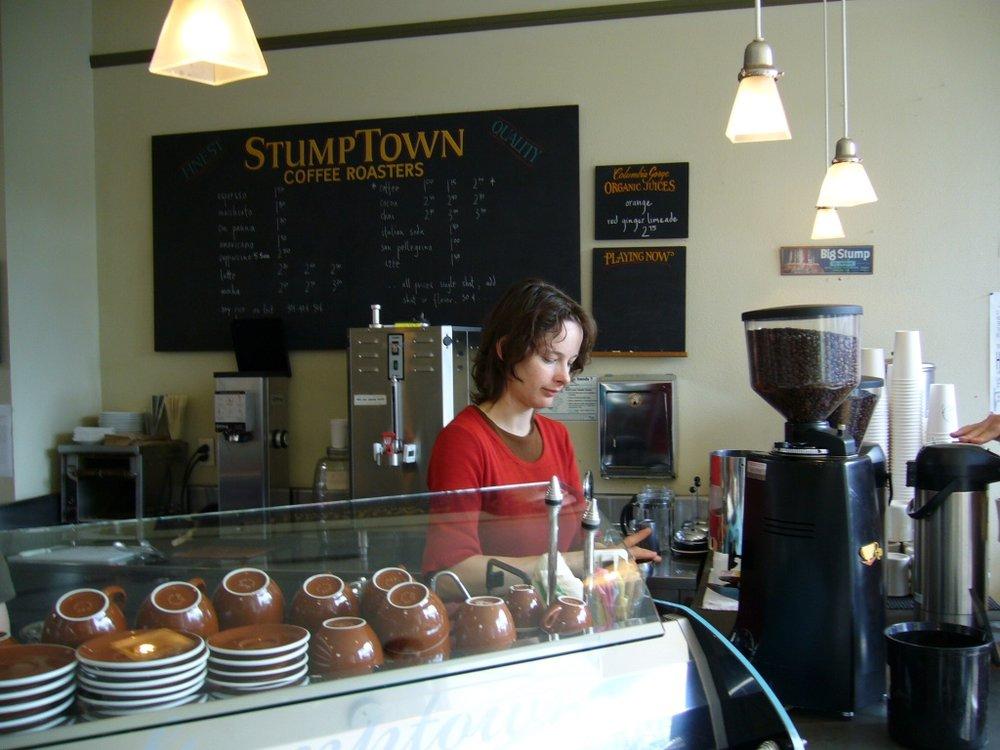 Stumptown, Belmont Street, Portland, OR.