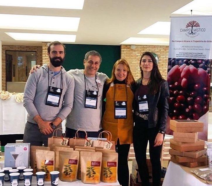 Virgínia Coffees e Campo Mistico. Produtores e seus cafés.
