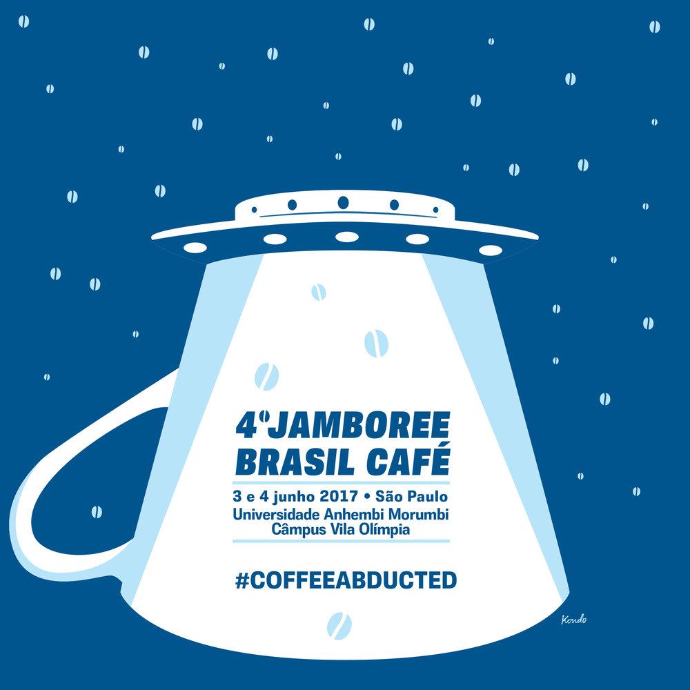 Jamboree Brasil Café/Jam Café. Arte: Daniel Kondo.