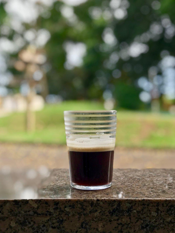 Espresso com Robusta