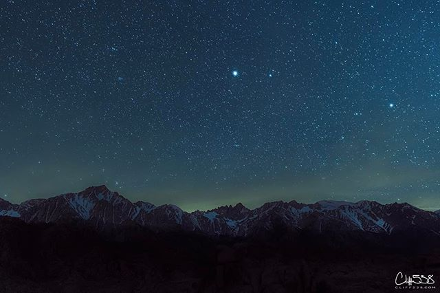"""Into The Night"" series: #california #mtwhitney #stars"