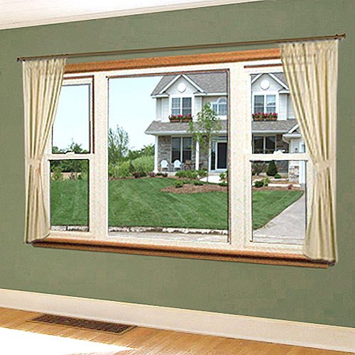 Double hung windows exteriors of lansing for Picture window replacement