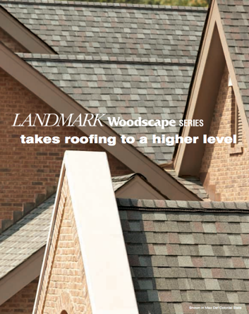 Landmark™ Woodscape® Roofing