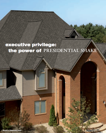 Presidential Shake™ TL Roofing