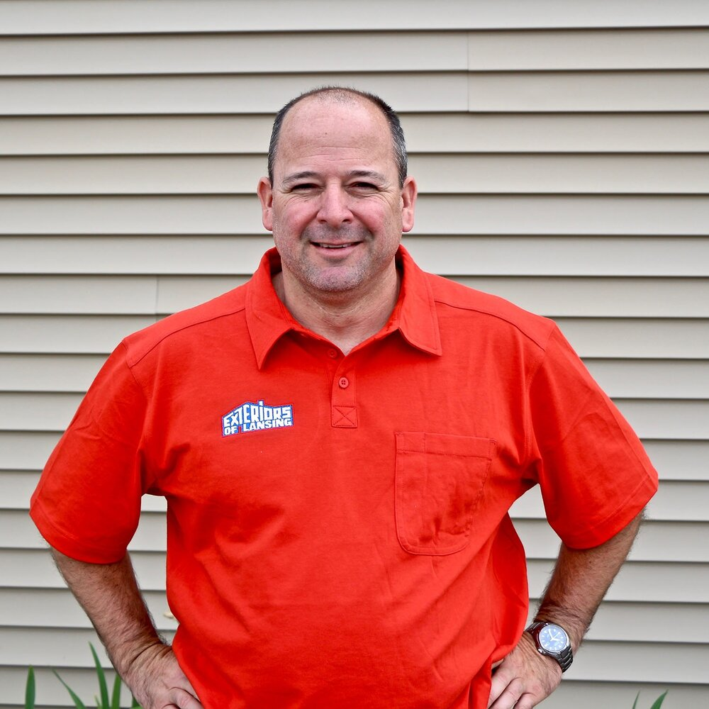 Lovely Tim Booth   Owner/Operator Of Exteriors Of Lansing