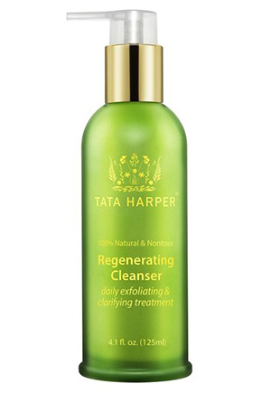 Super scrubby, anti-aging, non-toxic cleanser from Tata Harper that I use every night.