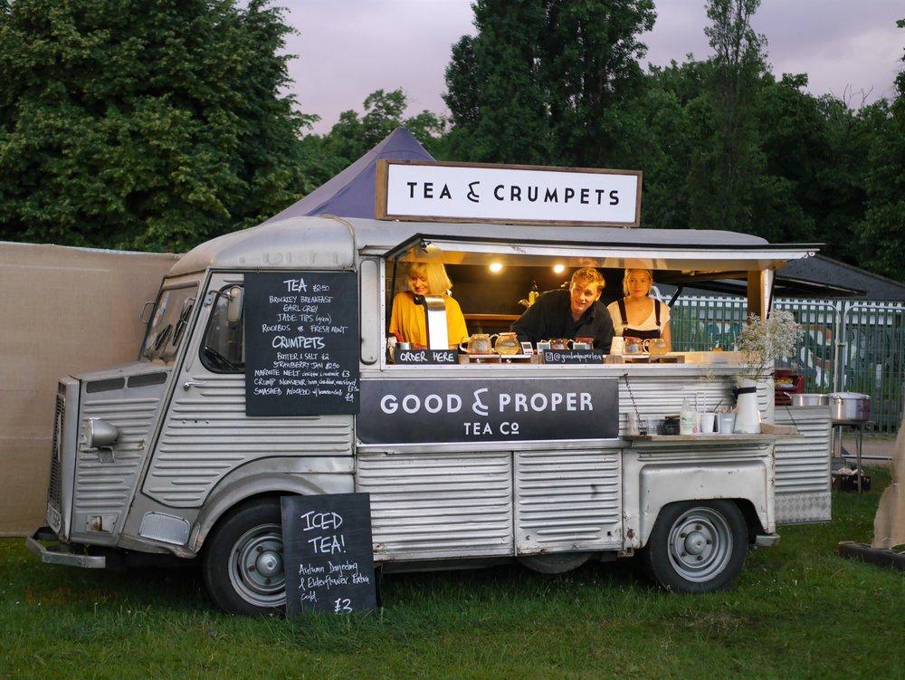 Good & Proper Tea van Victoria Park