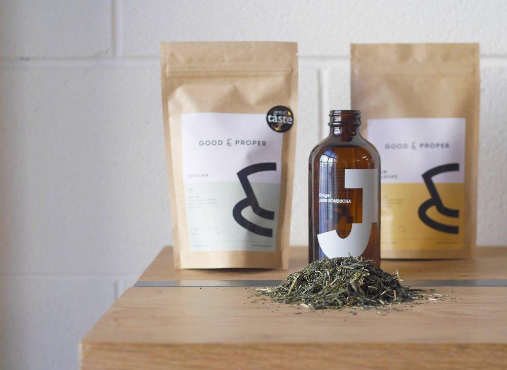 Jarr Kombucha and Good & Proper Tea