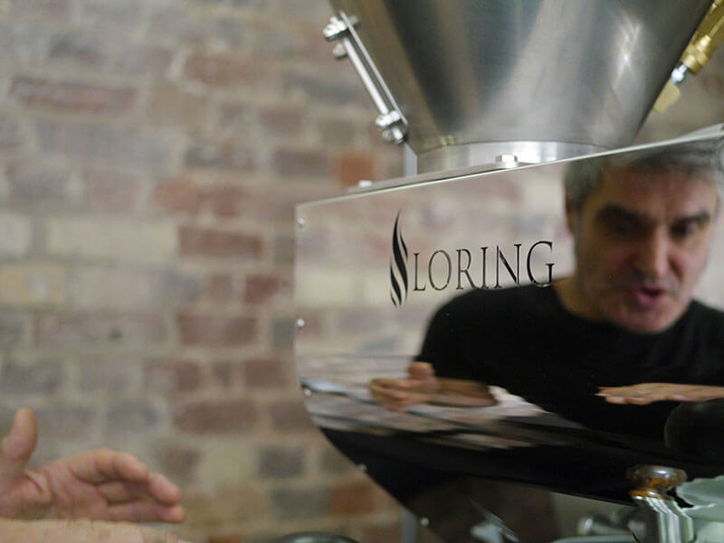 The Loring S15 Falcon roaster