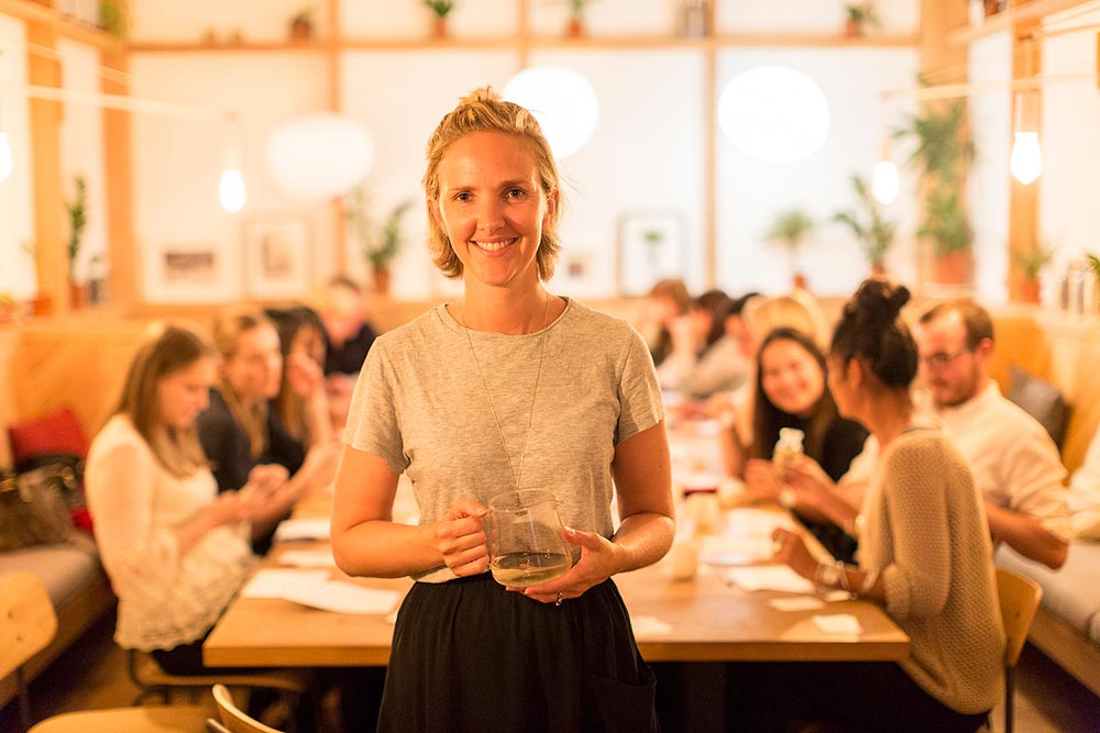 Emilie, Good & Proper Tea's founder